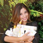 Cristina con i prodotti z.one concept