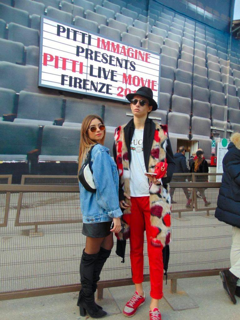 Cristina Licari al Pitti Uomo 93!