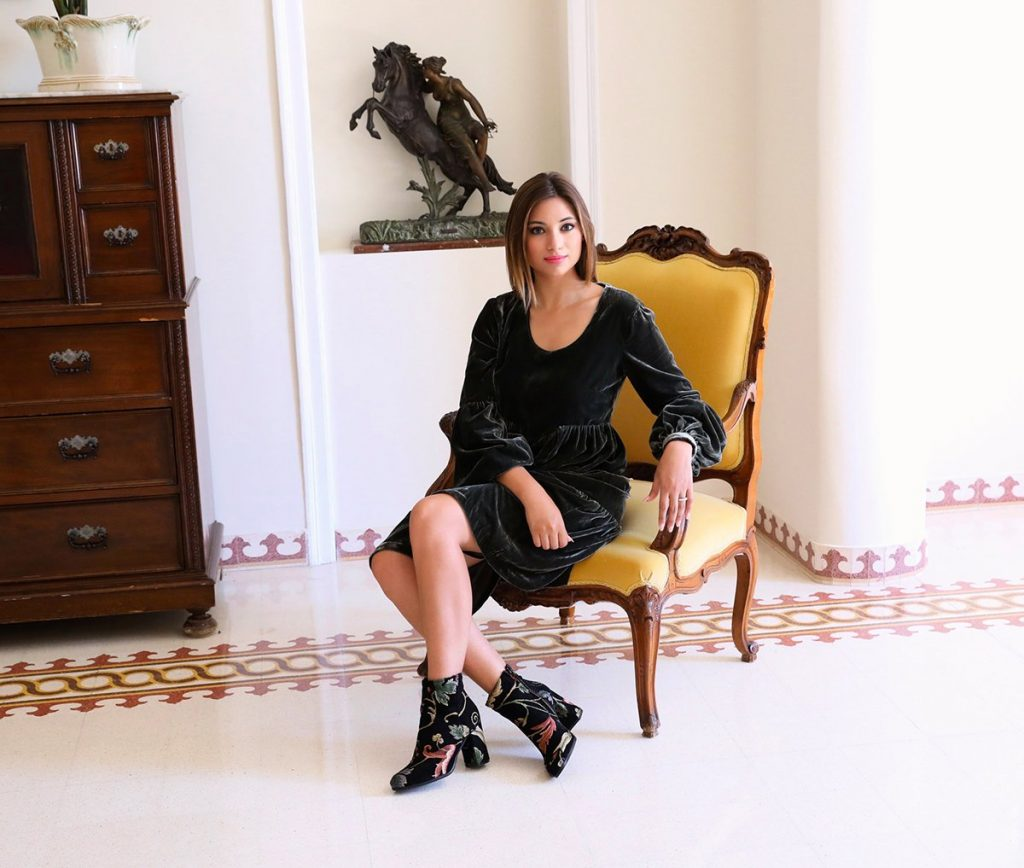 Cristina indossa Atos Lombardini per la festa della donna