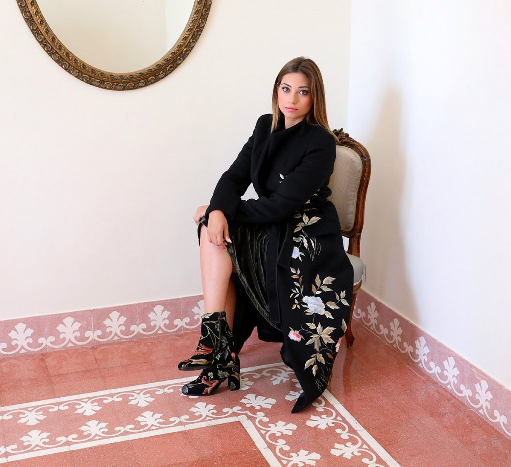 Cristina Licari shooting